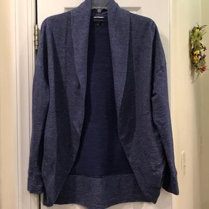 Tommy Hilfiger open, curved front cardigan. Size S